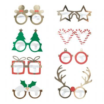 Novelty Christmas Party Glasses
